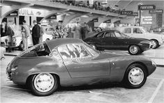 1958 Abarth Alfa Romeo 1000 with coackwork by Bertone at the Turin Auto Show