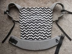 Toddler SSC Pattern and Instructions. Based off of the Ergo Baby carrier.