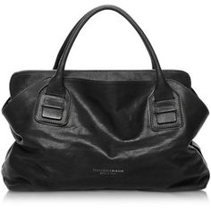 Francesco Biasia Vendome Haircalf and Leather Tote