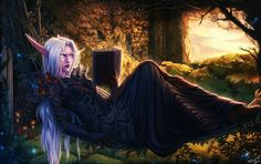 Night elf druid by PersonalAmi on DeviantArt