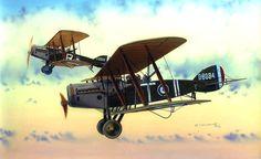 Bristol F.2B Sydney Dalrymple 139 Sqn., Italy, August 1918, by Martin Novotny