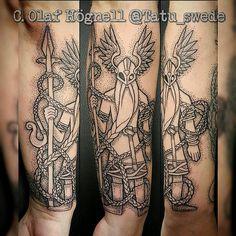 #Odin #Oðinn #Odinn #Oden #gungnir #draupnir #tattoo #knot… | Flickr