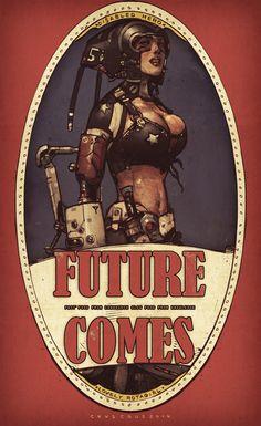 future comes girl