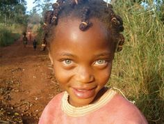 I And Africa | christian-louboobtins: African kids Her eyes