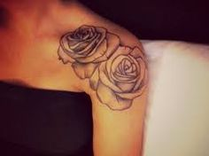 collarbone tattoo rose - Google-søk