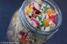 The Kitchen Shed - Clean Eating Quinoa Funfetti Salad #cleaneatingukrecipes #eatcleanuk