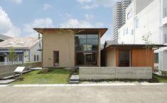 注注文住宅 設計事務所とはじめる家づくり モデルハウス|名古屋|[neie(ネイエ)] Nagoya, Japan Fashion, Facade, Exterior, House Design, Mansions, Studio, House Styles, Building