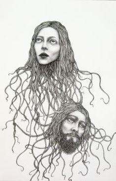 John Kleckner Untitled (Faces)