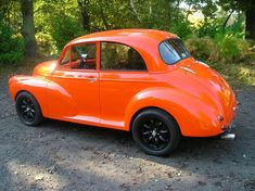 Bit of fun: post pics of your fave modded moggy's - Page 2 - Morris Minor Owners Club Weston Park, Rat Look, Morris Minor, Kids Seating, Car Magazine, Running Gear, Retro Cars, Station Wagon, Car Show