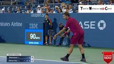 US Open Tennis Championships 2016  Alessandro Giannessi  vs Stan Wawrink...