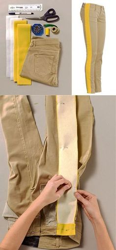 Fantastic Free How to enlarge the size of jeans by 2 ta . Tips I love Jeans ! And a lot more I want to sew my own personal Jeans. Next Jeans Sew Along I am likel Sewing Tutorials, Sewing Hacks, Sewing Patterns, Sewing Tips, Diy Clothing, Sewing Clothes, Jean Diy, Diy Fashion, Fashion Trends