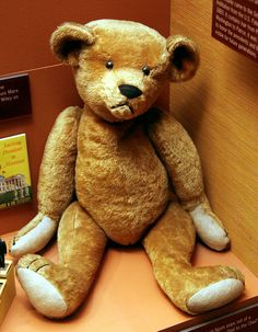 *The Origin of the Teddy Bear - http://laughingsquid.com/the-origin-of-the-teddy-bear/?utm_source=feedburner_medium=feed_campaign=Feed%3A+laughingsquid+%28Laughing+Squid%29