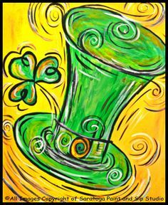 st patrick's day paintings - Google Search