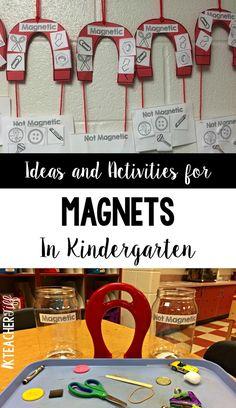 Magnet Activities - KTeacherTiff