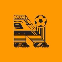 gustavo berocan veiga draws players as letters for world cup typeface