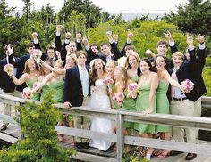 bridal party pictures - Google Search