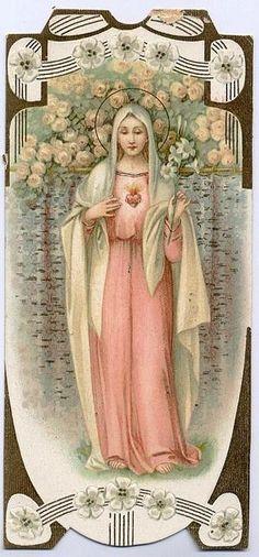 Immaculate Heart of Mary - Inmaculado corazón de Maria. Festividad 4 de junio.