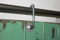 easy diy barn door track. Salvaged Door Hung On A Sliding Barn Hardware Made From Black Pipe And J Hooks - Easy Diy Track R