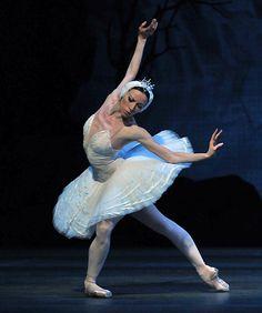""" Ballerina Viktoria Tereshkina as Odette in Swan Lake -Photo by Dave Morgan "" Ballerina Dancing, Ballet Dancers, Ballerinas, Ballet Tutu, Shall We Dance, Just Dance, La Bayadere, Dancer Photography, Ballet Images"