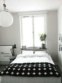 Rum för två » Cross blanket
