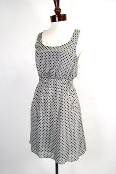 Dove Vintage Polka Dot Sun Dress
