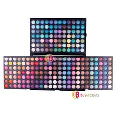 252 Color Eye Shadow Makeup Cosmetic Shimmer Matte Eyeshadow Palette Set -- BuyinCoins.com