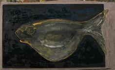 """""""Replete fish"""" Техніка: #деревяннаяпанель, #акрил  Розміри: 35x55  живопис Рік створення:2015 Опис: #woodpanel, #acrylic"""