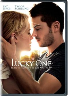 The Lucky One...one of the best movies I've ever seen in my life mostly because zac effron is a huge hunk and i love him being a soldier but still! Hahaa