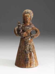 pop, Anoniem, circa 1550 | Museum Boijmans Van Beuningen Saltglaze stoneware from Germany, Delft, Aachen