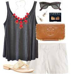 summer, created by classically-preppy on Polyvore