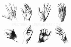 "#Tutorial: ""A study in hands"" by Spectrum-VII on #DeviantArt"