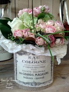 Lovely French Flower Containers...