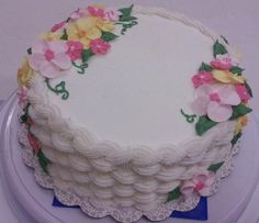 Final cake for Course 2 - Michaels, Fort Wayne, Indiana - #wiltoncontest