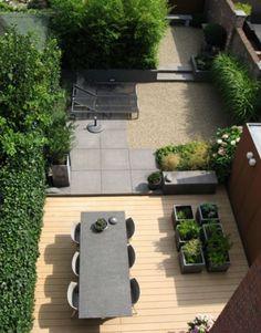 Thuis Tuin ideeën   mooie tuin leuke bakken voor kruiden Door sjans