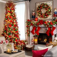 Deck the halls with beautiful, traditional Christmas decor!