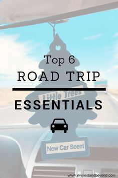 Don't leave home without these 6 essentials - hint: air freshener might be one! #roadtrip #wanderlust