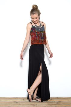 Beautiful Long Skirt by Oh Boy!
