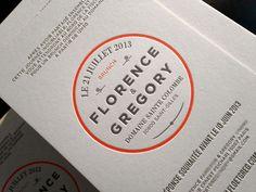 Design : Margaux Queralt • Faire-part • Impression : Badcass