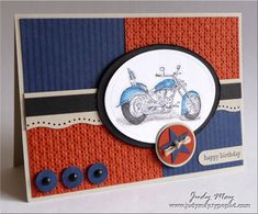 Just Judy Designs : Masculine Birthday
