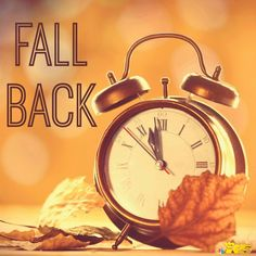 Turning the Clock Back!   Daylight saving time 2015 will end at 2:00 AM on Sunday, November 1!  Officially, the time moves back one hour at 2 a.m. local time on Sunday; you should reset your clocks before going to bed so you won't arrive at appointments an hour early.    Take a few minutes to test the batteries in your smoke alarms and carbon monoxide alarms and make sure they work and replace batteries as needed.  #DaylightSavingTime #DaylightSavingTimeEnds #Latham #Family #