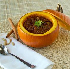 Paleo Pumpkin Chili #paleo #primal #chili