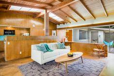 Architect Paul Tay, midcentury modern living room, Long Beach