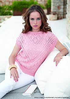 18 Ideas Knitting Summer Tops Jumpers For 2019 Tops A Crochet, Crochet Blouse, Knit Crochet, Summer Knitting, Lace Knitting, Knitting Designs, Knitting Patterns Free, Jumper Patterns, Crochet Baby Beanie
