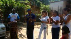Começando a Roda de Capoeira