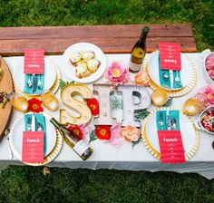 Decorating for an Outdoor Brunch Party — Freckled Italian Brunch Party, Host A Party, 30th Birthday Party Themes, Birthday Brunch, Focus Foods, Lighted Centerpieces, Brunch Invitations, Mothers Day Brunch, Creative Food
