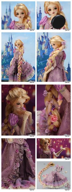 Super Dollfie Rapunzel