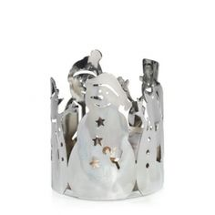 Silver Metal : Jar Holder : Yankee Candle. Have this, it's one of my favs.