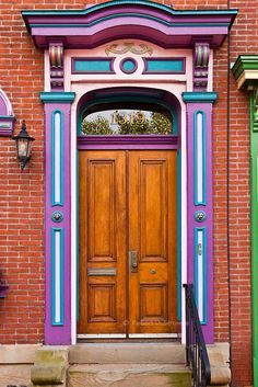 Door in Pittsburgh, Pennsylvania,USA photo by   Robert Strovers