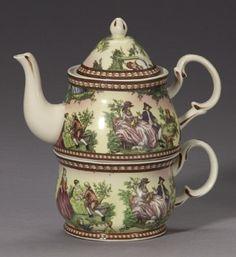 Teapot/cup