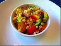 Vegetable Israeli Couscous Salad by danicasdaily.com